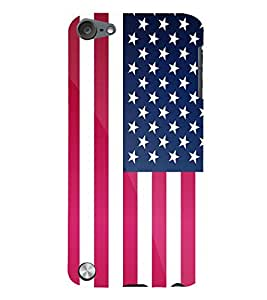 Takkloo american flag symbol of nation, designed coverpatterned cover) Printed Designer Back Case Cover for Apple iPod Touch 5 :: Apple iPod 5 (5th Generation)