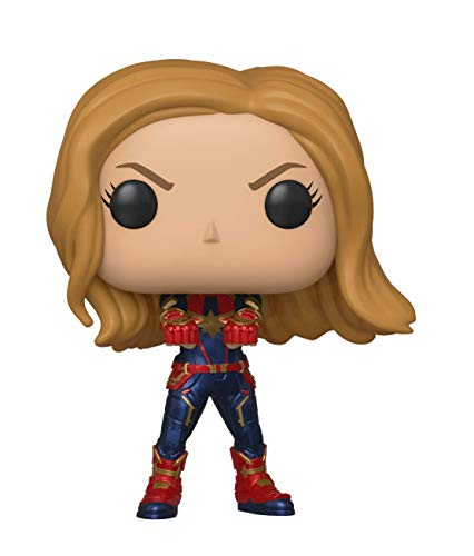 Funko 36675 POP Bobble: Avengers Endgame: Captain Marvel Sammelfiguren, Multi