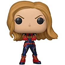 Funko Avengers End Game (Infinity War 2) - Captain Marvel Pop Bobblehead Figure