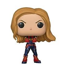 Funko 36675 POP Bobble: Avengers Endgame: Captain Marvel, Multi