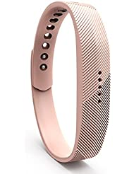 Cyeeson Fitbit Flex 2 Armband Weiche Silikon Adustable Armband Strap Replacement Watch Band für Fitbit Flex 2