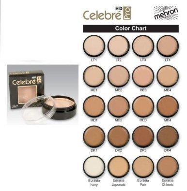 Base de maquillaje HD Celebre Pro de Mehron