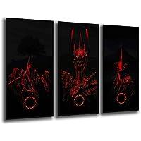 Poster Moderno Fotografico El señor de los Anillos, Sauron, 97 x 62 cm, ref. PST26013