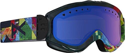 Anon Damen Snowboardbrille Skibrille Majestic, Triplet/Blue Fusion, 10763102959