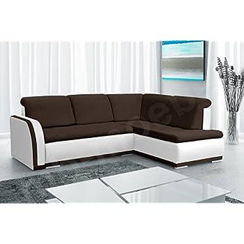 Fesselnd Fesselnd Mb Moebel Ecksofa Sofa Eckcouch Couch Mit Schlaffunktion Und  Bettkasten Ottomane L Form Schlafsofa