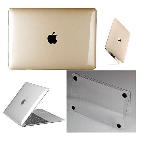 frixie (TM)–Custodia per portatile in plastica rigida trasparente lucida + tastiera Cover per MacBook Air Pro Retina 1112 1315 Pro Retina 13inch Mac Pro 13inch