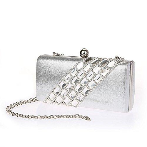Borsa mini/ diamante/Sacchetto di mano moda europea/ borsa da sera delle signore-B B