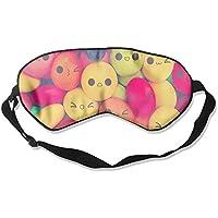 Comfortable Sleep Eyes Masks Smile Candy Printed Sleeping Mask For Travelling, Night Noon Nap, Mediation Or Yoga preisvergleich bei billige-tabletten.eu