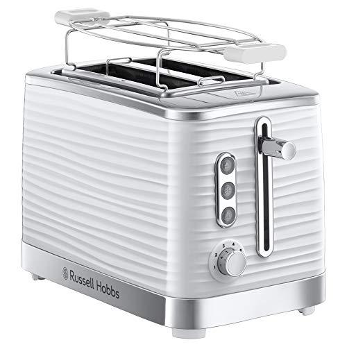 Russell Hobbs 24370-56 Toaster Inspire White, Lift and Look Funktion, bis zu 6 einstellbare...