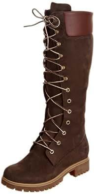 Timberland Women's Premium FTW_Women's Premium 14in WP Boot 3753R, Damen Stiefel, Braun (Dark Brown), EU 36 (US 5.5)