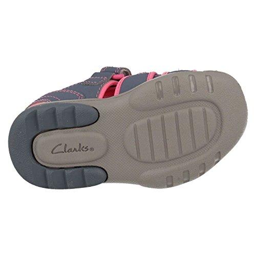 Clarks Plage marée filles sandale infantile Gris