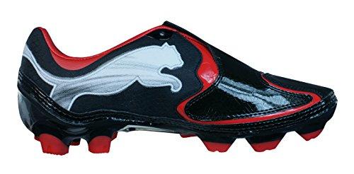 Puma V1.10 i FG Garçons Bottes de football Black