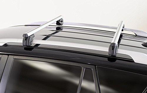 Alu Relingträger Sherman 135 VW Touran Kombi ab 03 Dachträger 75kg abschließbar