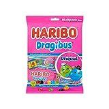 Caramelo suave | Haribo | Tamaño de Multipack original de Dragibus | Peso total 350 gramos
