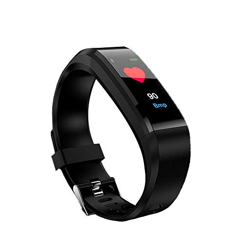 Cebbay Pulse Fitness Tracker con Monitor de Ritmo CardíAco,Reloj de Seguimiento de Actividad,Pulsera...