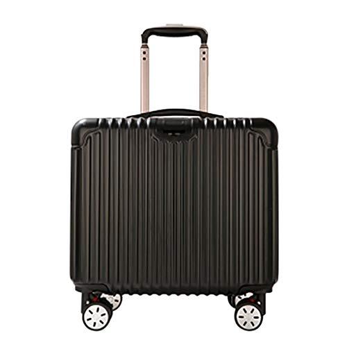 he, tragbare Mini-Aktentasche Kompakte Overnighter Reisetaschen Gepäck mit integriertem Getränkehalter Geschäftswagen Anti-Scratch-Verschleißfest 41x24x40cm ()