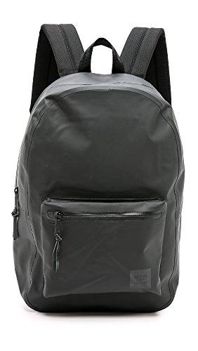 herschel Settlement Backpack black STUDIO black tarpoulin (00567)