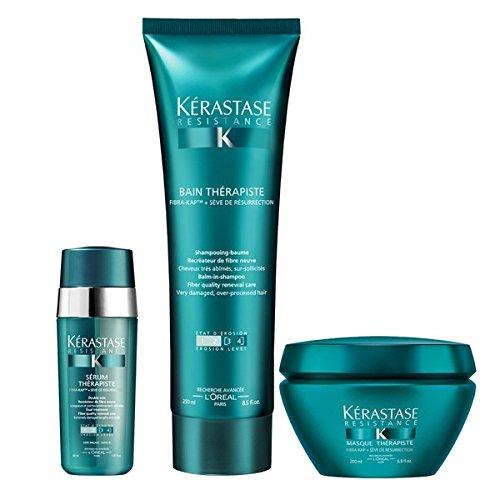 Kérastase resistenza Therapiste Masque shampoo 250ml, 200ml e 30ml siero Trio