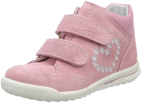 Superfit Baby Mädchen Avrile Mini Sneaker, Pink (Rosa Kombi), 25 EU
