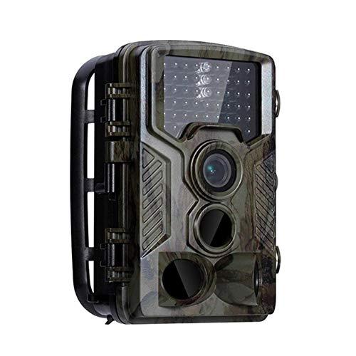 """TOMMY LAMBERT Caméra de Chasse Caméra de Vision Nocturne Trail Monitors Caméra de Détection de Mouvement, Capteur CMOS 8MP 2.4""""TFT LCD 46 Lumières Infrarouges Mémoire 8Mx16 Carte TF Jusqu'à 32 Go"""