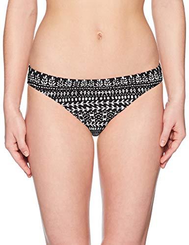 Swim Systems Damen Americana Moderate Coverage Bikini Bottom Swimsuit Bikinihose, Castle Rock, Medium Americana-rock