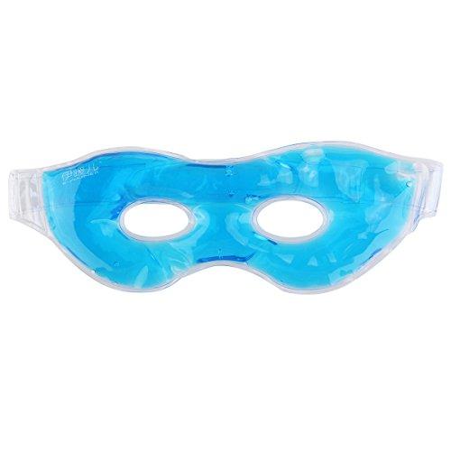 Kalten Gel-augenmaske (LEORX Multifunktions Wiederverwendbare Kalt Warm Therapie Wohltuend Entspannende Schönheit Gel Augenmaske Schlafen Eis Schutzbrillen (Blau))