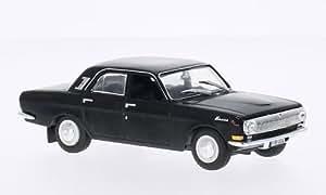 GAZ M24 Volga, black, Model Car, Ready-made, SpecialC.-75 1:43 by SpecialC.-75