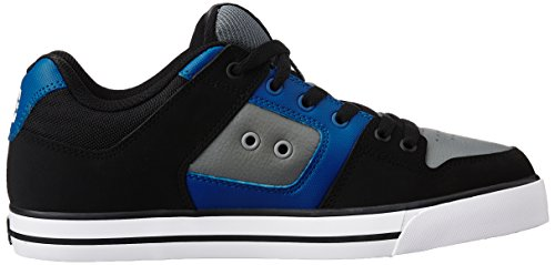 DC Shoes Pure Black/Blue/Grey