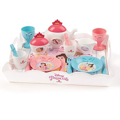 #1118 Disney Princess Servier Tablett mit Geschirr für Kinder ab 3 Jahren - Frozen Eiskönigin...