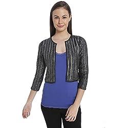 VERO MODA Women's Blazer (10131986_Silver_L)