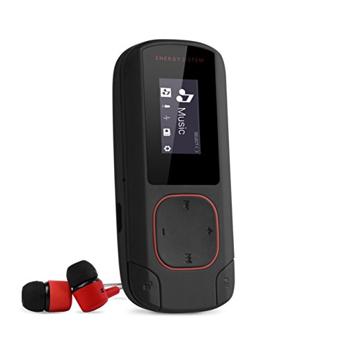 Energy Sistem MP3 Clip Bluetooth (Reproductor MP3 con Pantalla, Bluetooth, 8GB, Clip...