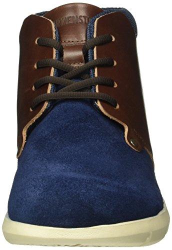 Birkenstock Estevan Herren, Bottes Classiques homme Bleu - Blau (Blue/Brown)