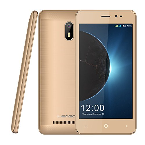 Telephone Portable Debloqué, Leagoo T5C - Smartphone Pas Cher 4G, Double Sim Android 7.0-5.5 Pouces FHD IPS Écran 3000mAh Octa Core 1,8 GHz - F: 5MP, A: 13M + 2MP, 3 + 32Go (Orange)