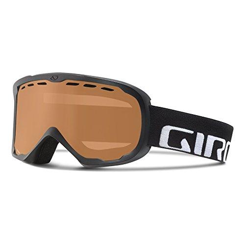 Giro Focus Goggles, Black Wordmark - Amber Rose