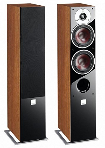 "Pair of Dali ""Zensor 5"" Speakers, Light Walnut"