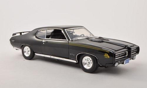 pontiac-gto-schwarz-1969-modellauto-fertigmodell-motormax-118