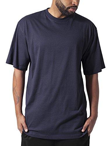 Urban Classics TB006 Herren T-Shirt Tall Tee | Oversize Shirt, Blau (Navy 155), L (T-shirt Fit Standard)