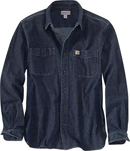 Carhartt Rugged Flex Patten Denim L/S Shirt - Jeanshemd -
