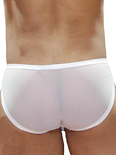 GBGB Herren Carson Swimwear White Weiß