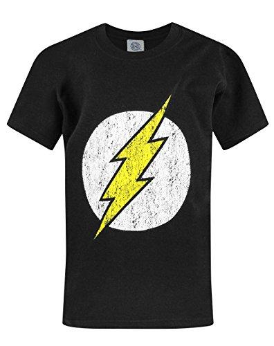 Official Flash Distressed Logo Boy's T-Shirt