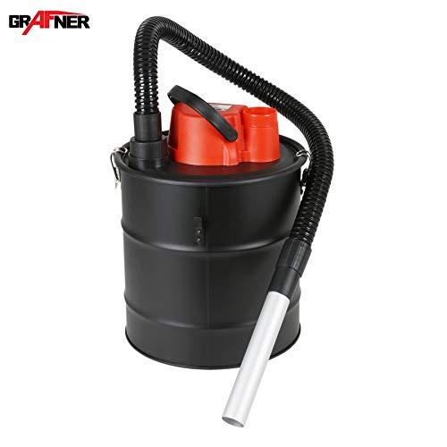 Aspirador de cenizas de la marca Grafner®, 20litros, 1200W, con filtro HEPA y funciones de succión y soplado