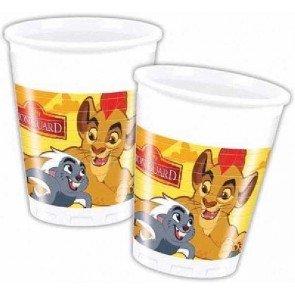 8Cup Le Roi de Lions de Disney pour anniversaire d'enfant ou Thème Papier Party Party Party Cups Cups Cups Devise Garde le Lion Simba Kian Nala Timon Pumba Mufasa Zazu Matata agressifs