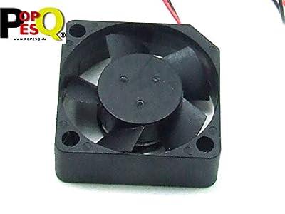 POPESQ® 1 Stk. x Lüfter Super Leise 12V 30mm x 30mm x 10mm Extruder 3D Drucker / 1 pcs. x Fan Super Silent 12V 30mm x 30mm x 10mm Extruder 3D Printer #A2239