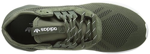 adidas Tubular Runner Weave, Chaussures de sport homme Vert - Green (Base Green/Base Green/White)