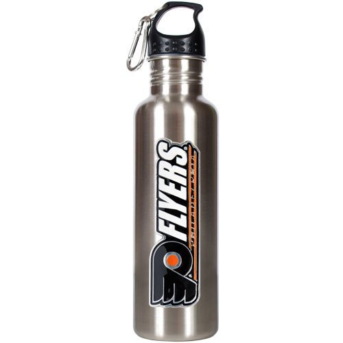 nhl-philadelphia-flyers-stainless-steel-water-bottle-with-pop-up-spout-26-ounce-by-great-american-pr