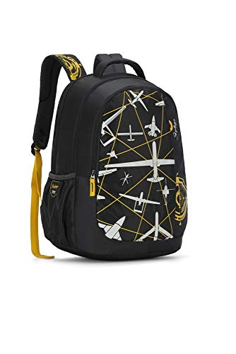 Best skybags backpack in India 2020 Skybags Figo 03 32 Ltrs Black Casual Backpack (FIGO 03) Image 3