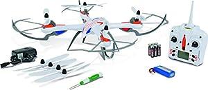 Carson 500507099-Aviación, X4Quadcopter 5502.4G 100% RTF