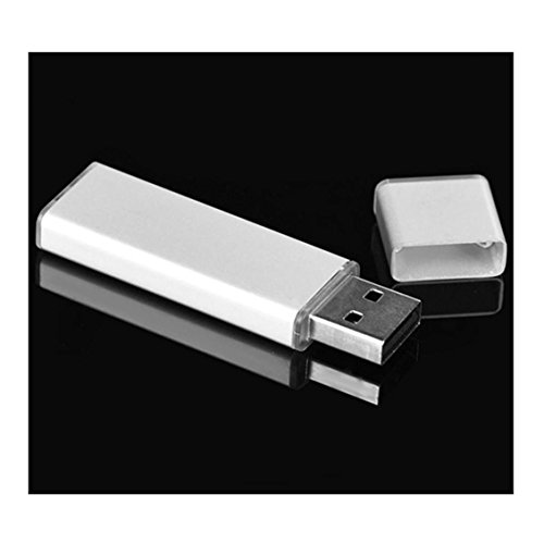 USB 2.0-Stick, Transer® Flash Laufwerk 4 GB 8 GB 16 GB 32 GB 64 GB 128 GB Aluminium High Speed USB2.0 Flash Drive Memory Stick U Disk Datenspeicher USB-Sticks Silver x 8 GB