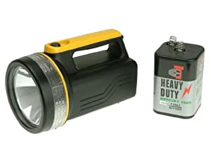 Lighthouse T996 Krypton Spotlight Comes with 6 Volt 996 Type Battery
