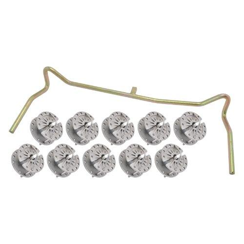 10x tendeurs de fils et cordes, + étrier, kit